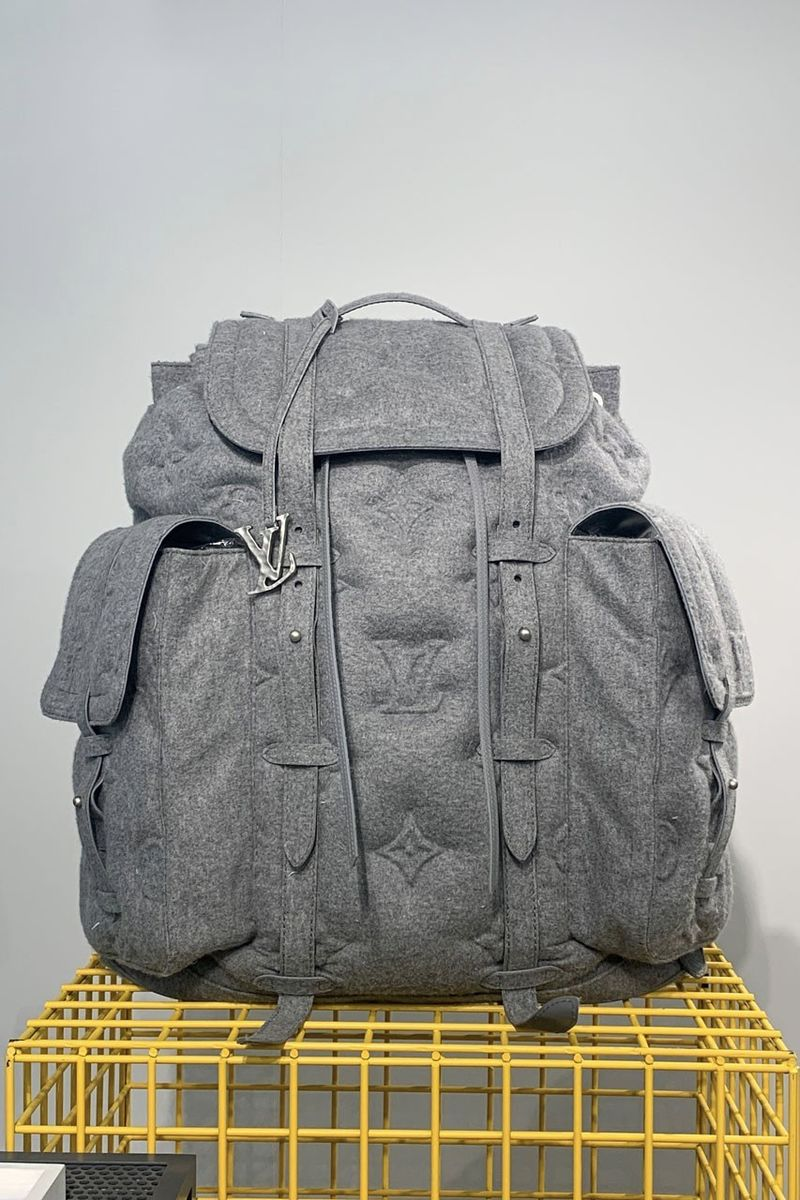 Luxury-Focused Gigantic Backpacks