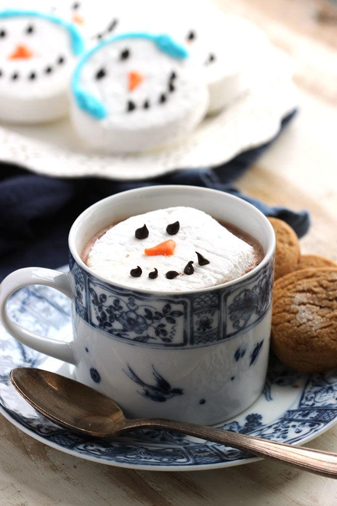 Snowmen Marshmallow Creations