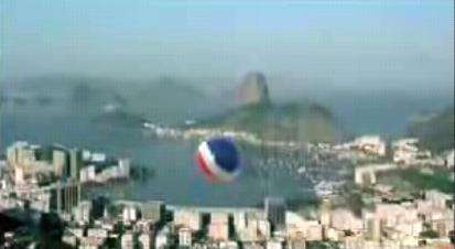 Gigantic Pepsi Beach Ball Gets Tossed Around the World