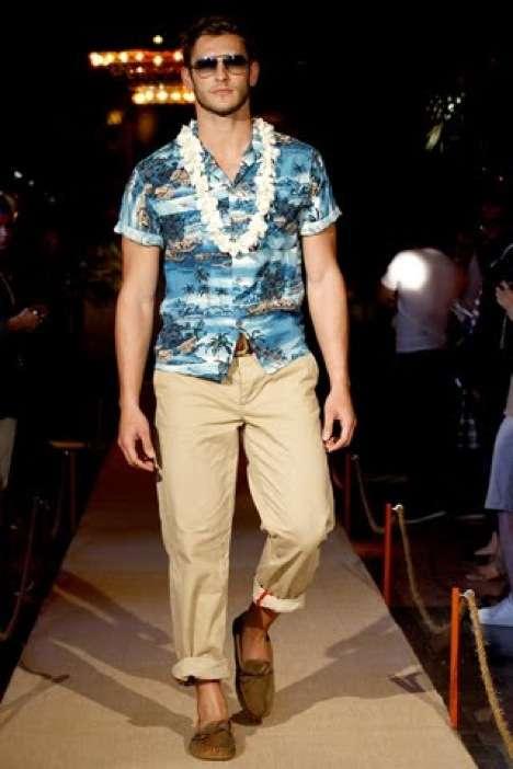 Aloha Shirt Menswear