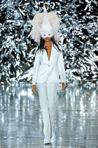 Feathered Filmy Fashion
