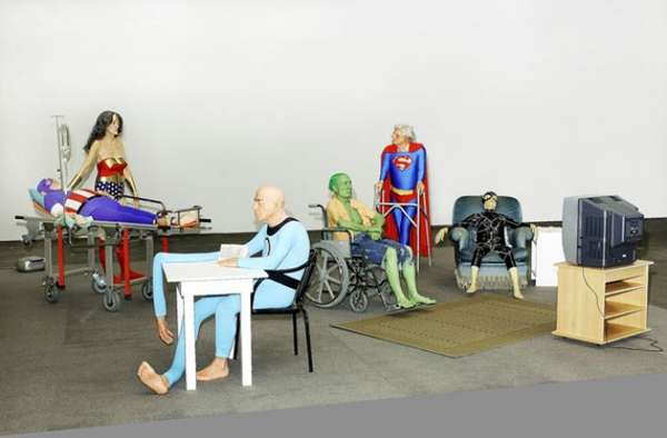 Retired Superhero Shoots