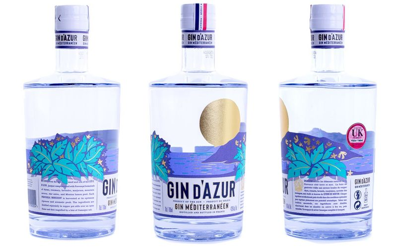 Côte D'Azur-Inspired Gins
