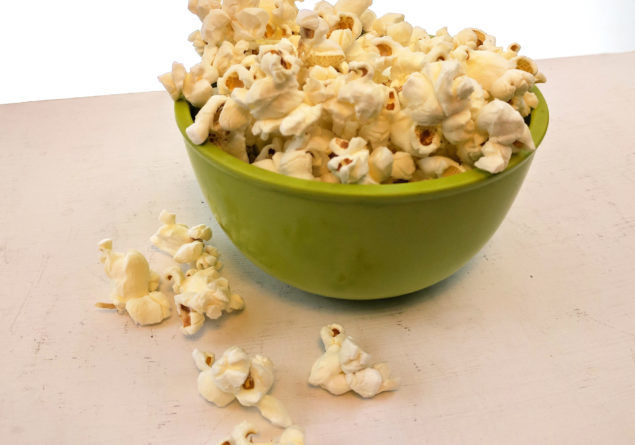 Gin-Flavored Popcorn