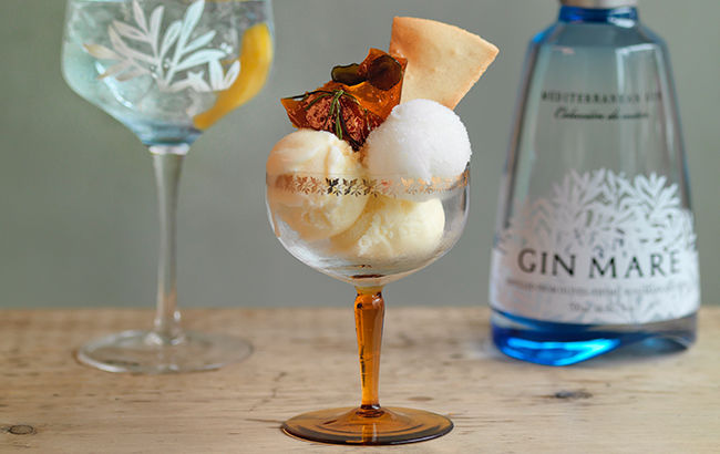 Gin-Infused Ice Creams