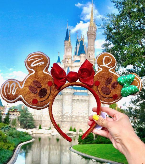 Gingerbread-Themed Disney Headbands