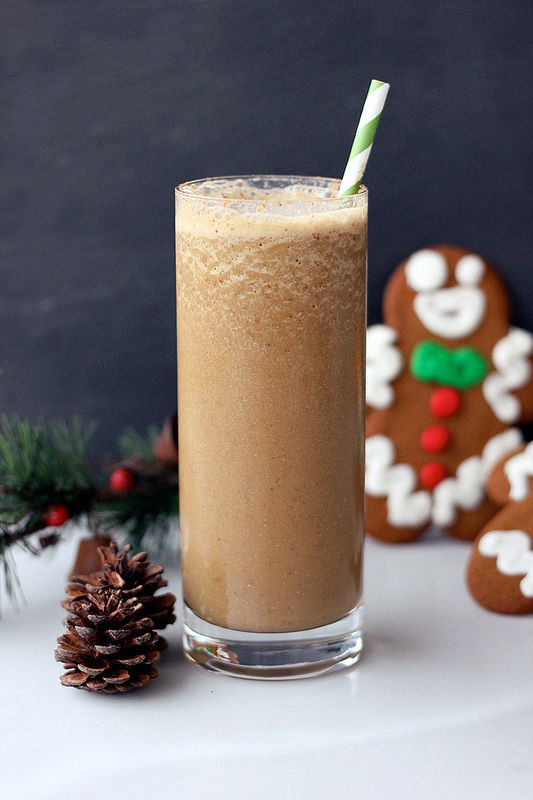 Christmas Cookie Smoothies