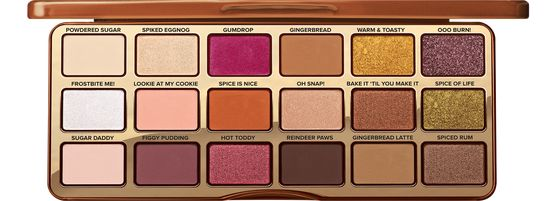 Gingerbread-Inspired Eye Palettes