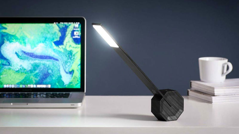 Rechargeable Geometric Desk Lamps