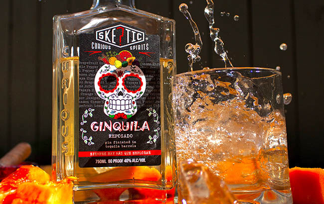 Tequila Barrel-Finished Gins
