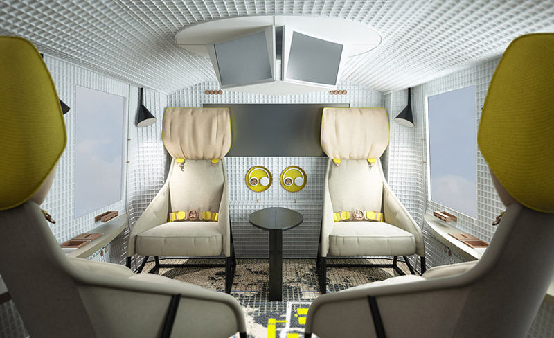 Luxurious Noise-Reducing Helicopters