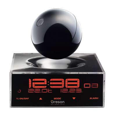 Giovannoni Timesphere Alarm Clock With Floating Projector
