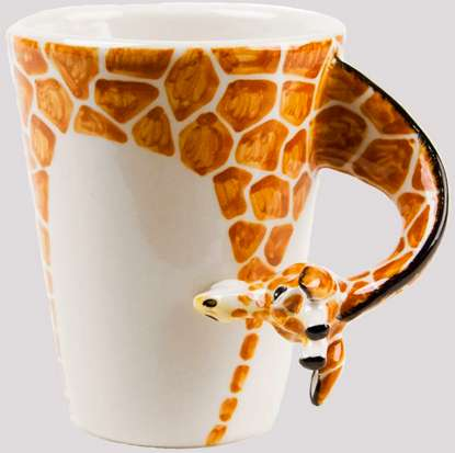 3D Zoo Animal Mugs
