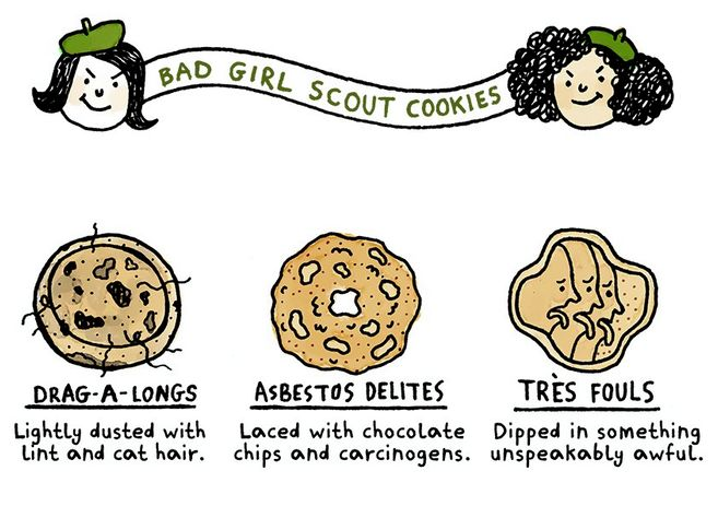 Evil Cookie Infographics
