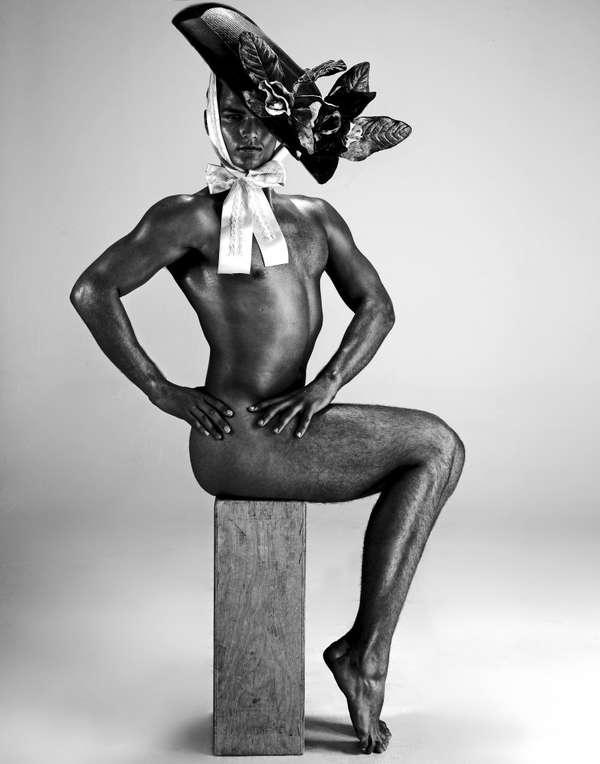 Headgear-Loving Nudists