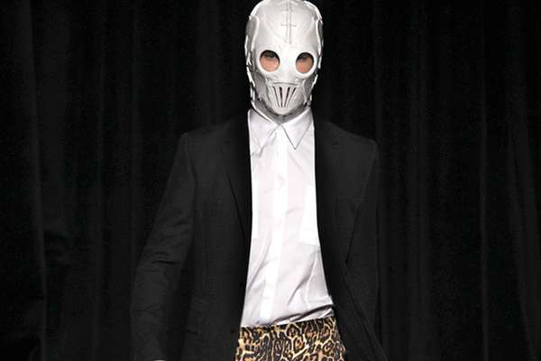 Menacing Masked Menswear