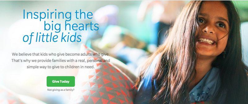 Kid-Focused Donation Platforms