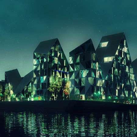 Glacier-Inspired Eco Architecture