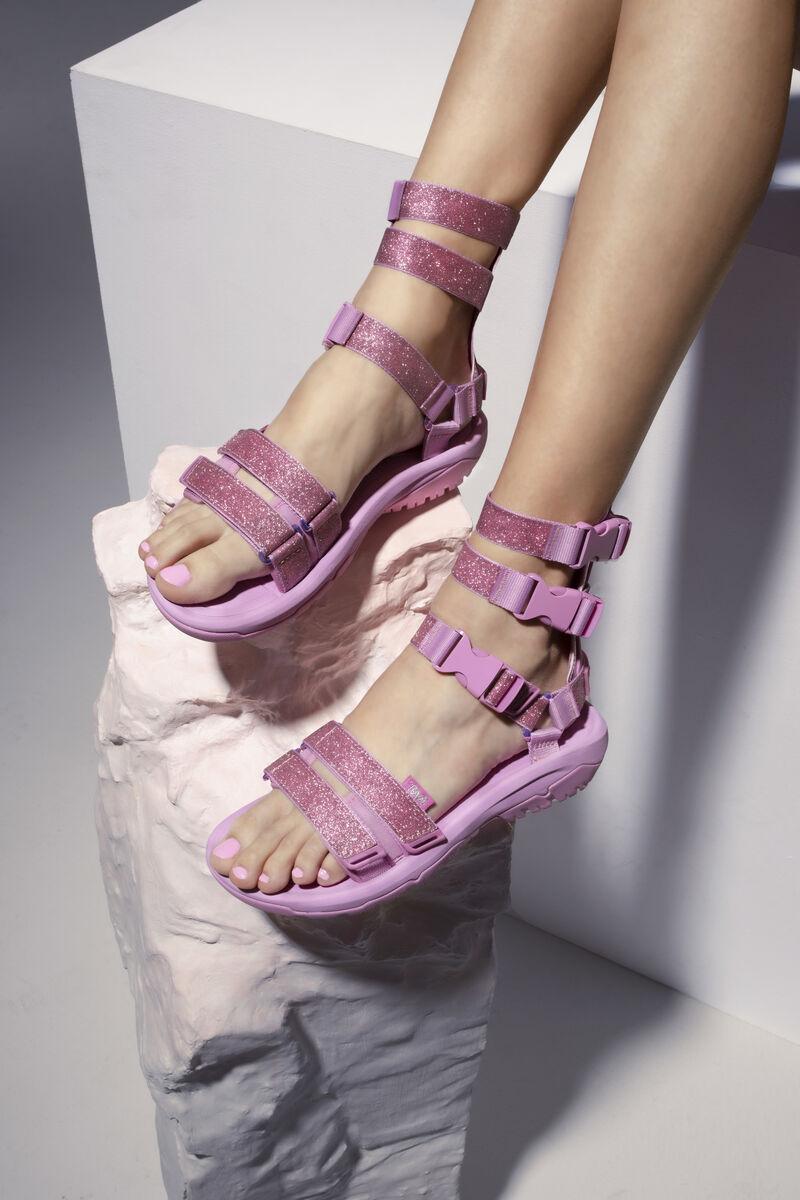 Glittering Gladiator Sandals