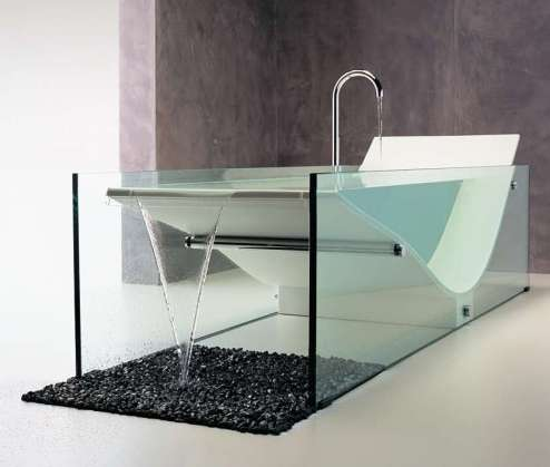 Minimalist Bathtubs