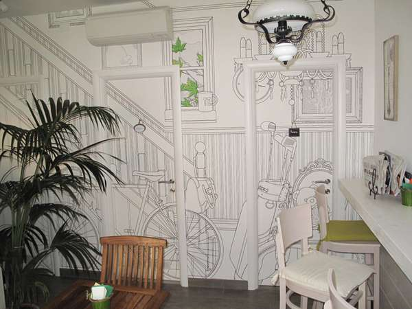 Charming Illustrated Walls Glamora Creative Wallcoverings