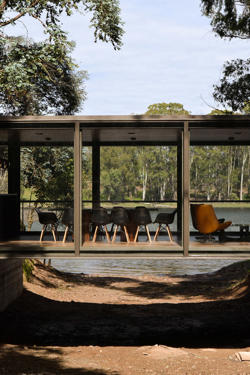 Panoramic Glass Pavillions