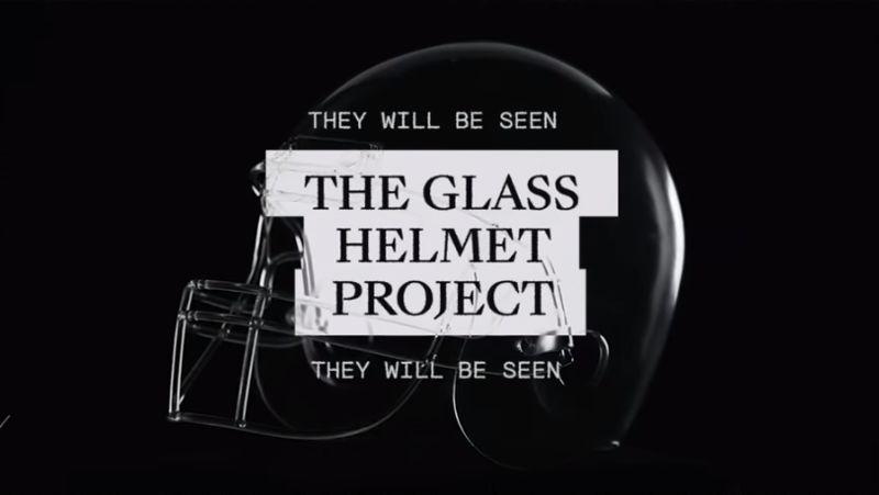 Translucent Football Helmets