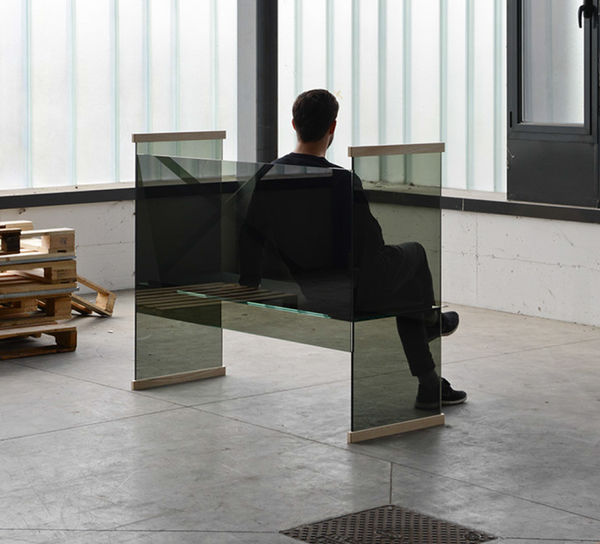 Transparent Glass Furniture Sets