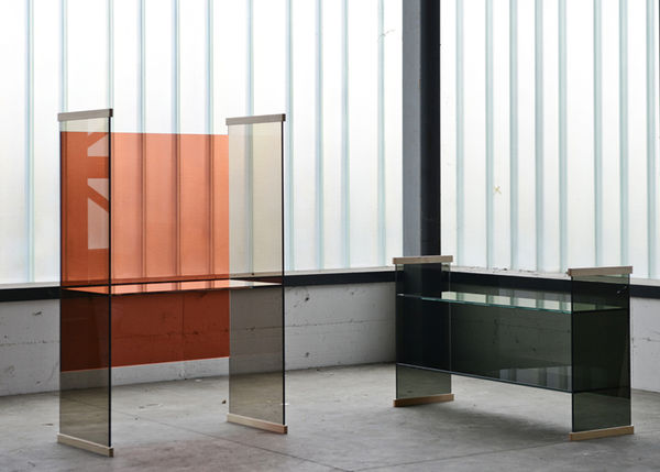 Tinted Glass Furniture Collections