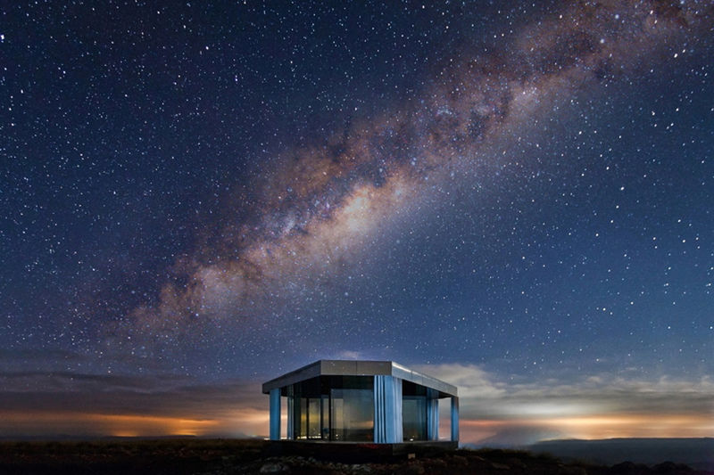 Stargazing Glass Pavilion Designs