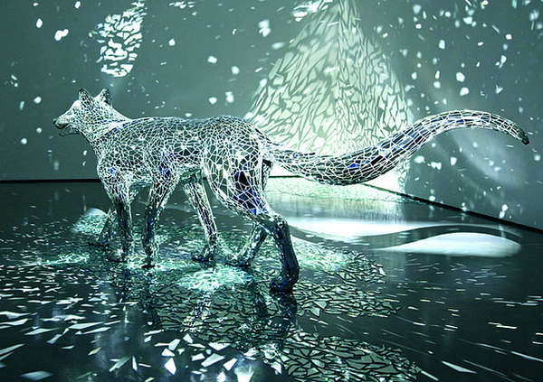Reflective Animal Art