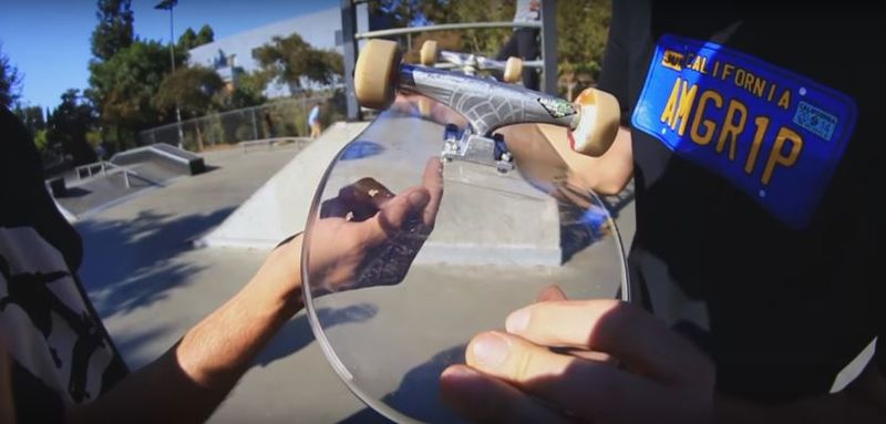 Bulletproof Glass Skateboards