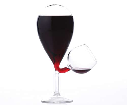 Perpetually Full Wine Glasses