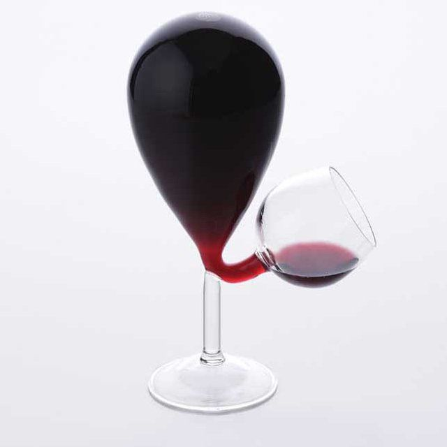 Balloon Inspired Wine Glasses : Glass