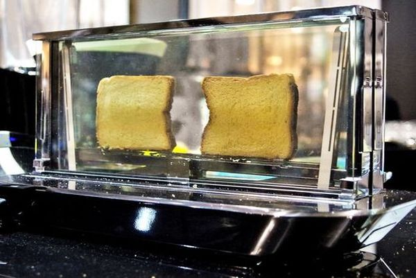 Transparent Glass Toasters