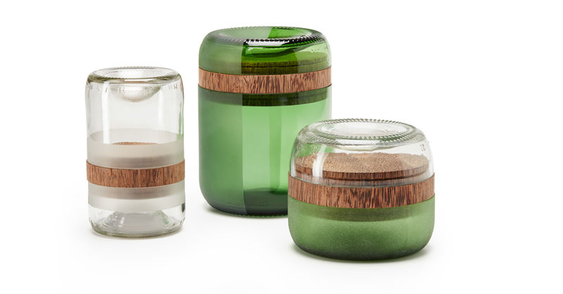 Waste-Reducing Glass Candles