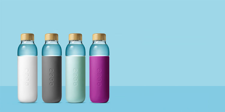 Dual-Toned Water Bottles