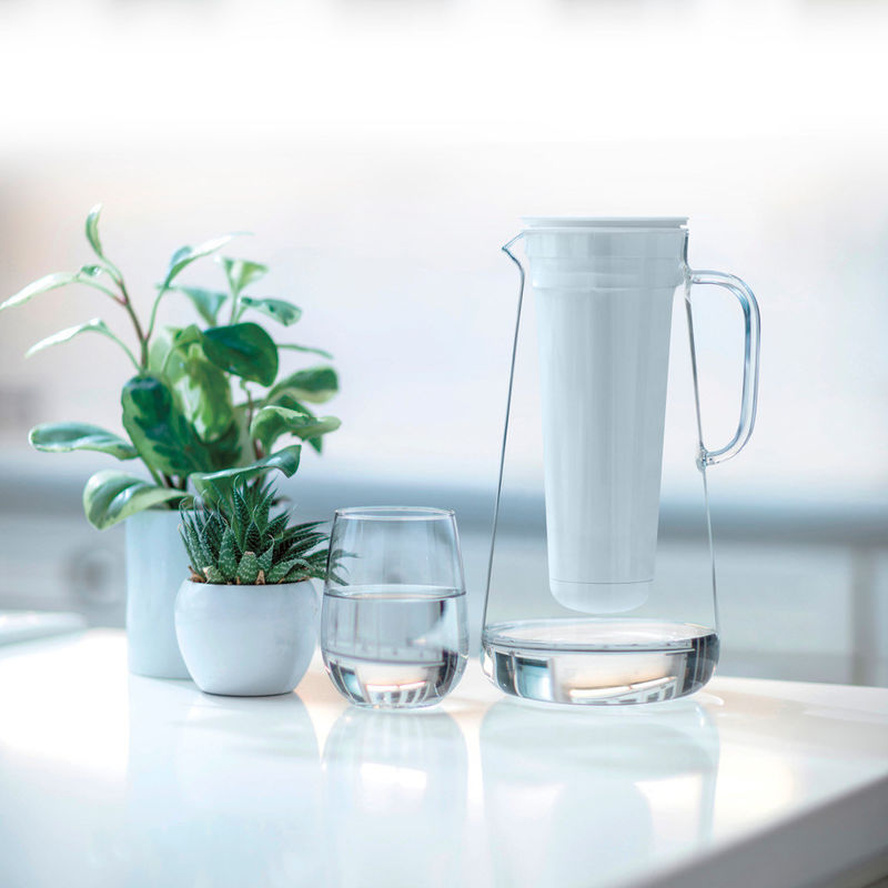Advanced Filtration Pitchers Glass Water Filter Pitcher