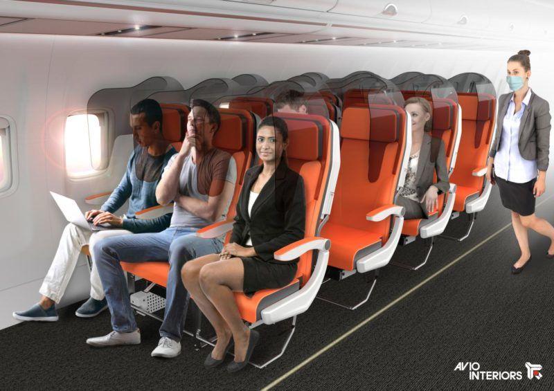 Separating Airplane Seats