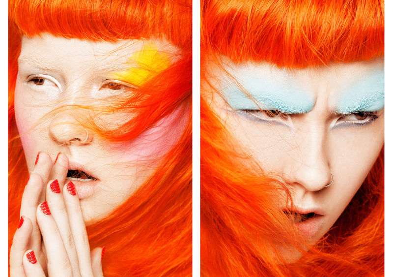 Electric-Hued Cosmetic Captures
