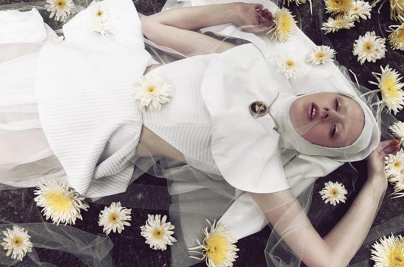 Fashion-Forward Nun Photography