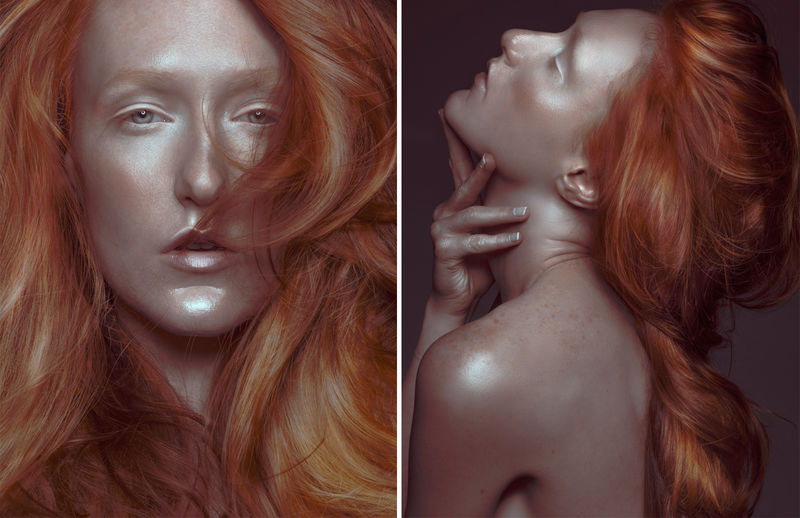 Copper-Haired Cosmetic Captures