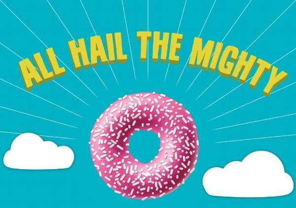 Wacky Donut Fact Infographics