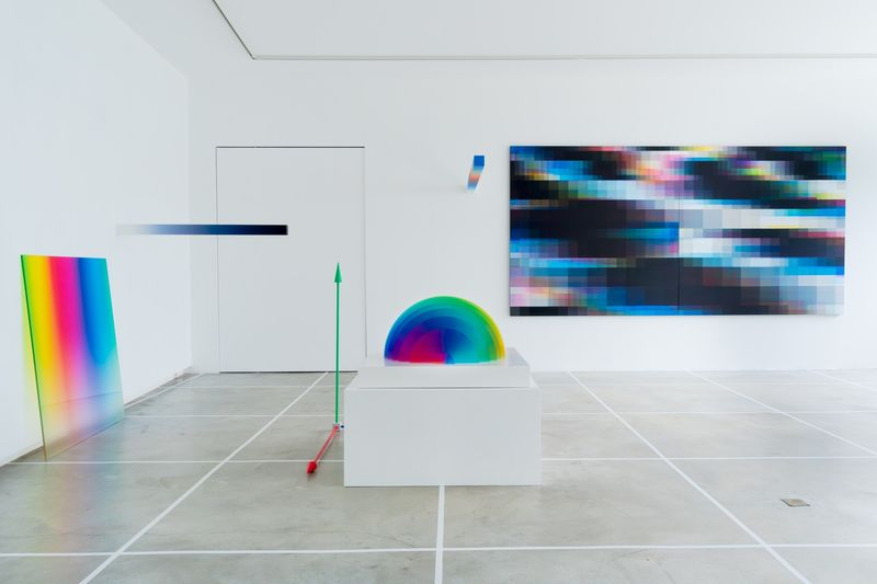 Dynamic Glitch Art Exhibitions
