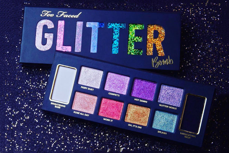 Pigmented Glitter Eye Shadows