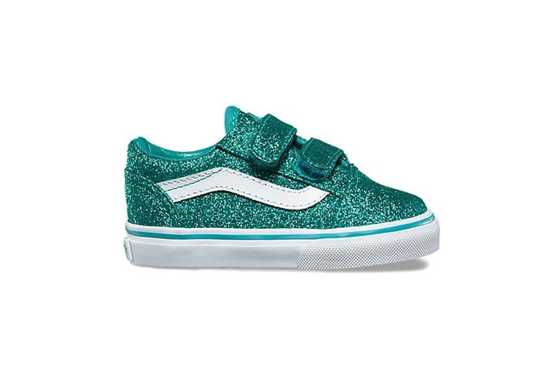Glittery Youth Sneakers