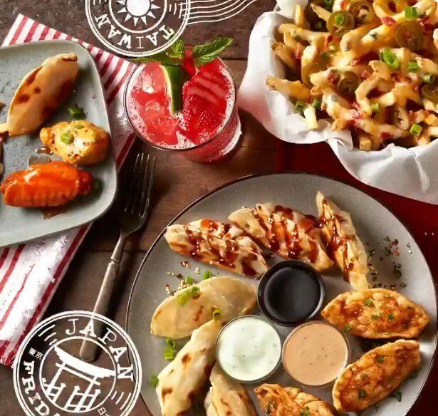International Appetizer Lineups