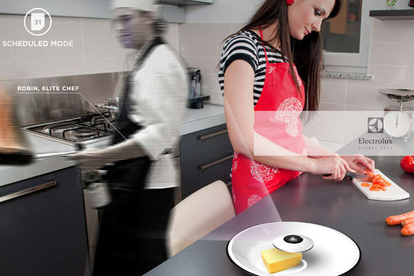 Holographic Chef Projectors