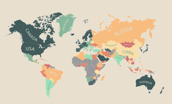 Life Quality World Maps