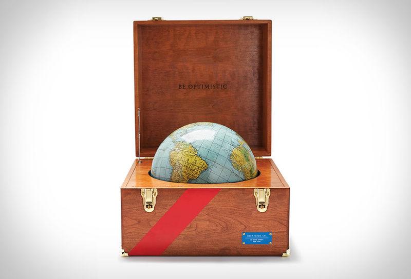 Custom-Made Wanderlust Globes